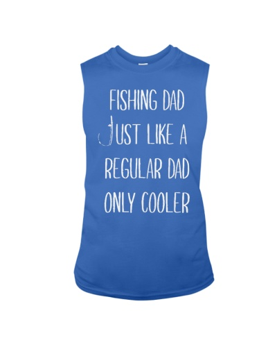 Fishing-Dad-just-like-a-regular-dad-T-Shirt