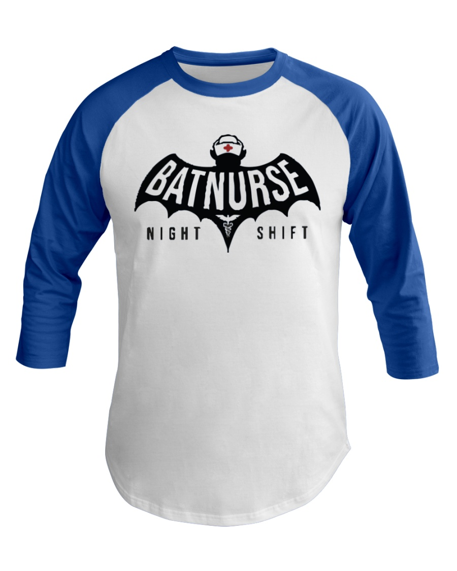 Bat nurse T-Shirt Baseball Tee
