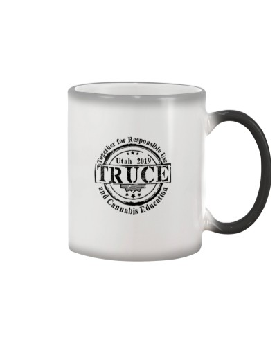TRUCE color changing coffee mug
