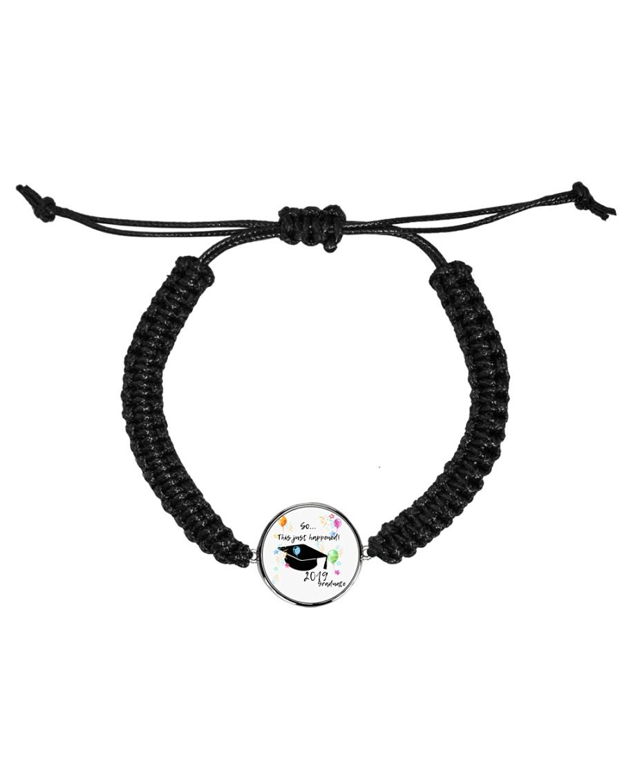 2019 Graduate Party Cord Circle Bracelet