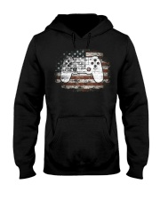 Video Game 4th Of July Independence Day Gift Hooded Sweatshirt thumbnail
