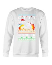 Fa La La La Godzil - La Crewneck Sweatshirt thumbnail