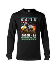 Fa La La La Godzil - La Long Sleeve Tee front