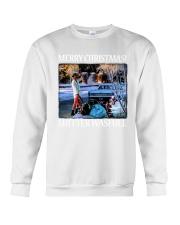 Merry Christmas Shitter Wasfull Crewneck Sweatshirt thumbnail