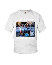 Merry Christmas Shitter Wasfull Youth T-Shirt thumbnail