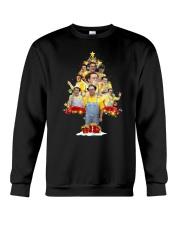 Caluche Christmas Tree Crewneck Sweatshirt front