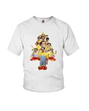 Caluche Christmas Tree Youth T-Shirt thumbnail