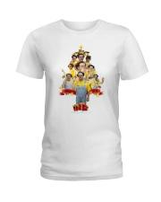Caluche Christmas Tree Ladies T-Shirt thumbnail