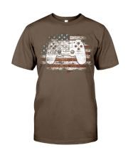 4th Of July Gift Video Game Gamer Kids Boy Classic T-Shirt thumbnail