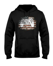 4th Of July Gift Video Game Gamer Kids Boy Hooded Sweatshirt thumbnail