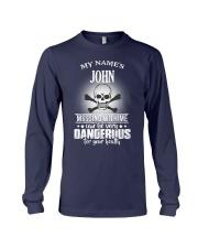 My name's John Long Sleeve Tee thumbnail