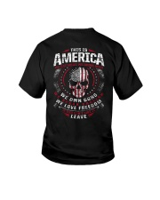 THIS IS AMERICA - WE OWN GUNS Youth T-Shirt thumbnail