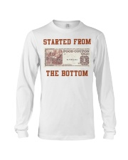 Food stamp started from the bottom shirt Long Sleeve Tee thumbnail