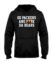Go Packers and fuck da bears shirt Hooded Sweatshirt thumbnail