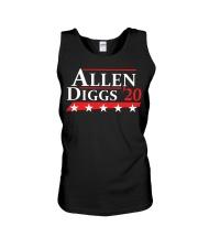 Allen Diggs 2020 shirt Unisex Tank thumbnail