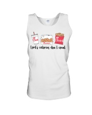 Lord's calories don't count Chick Fil A t-shirt Unisex Tank thumbnail