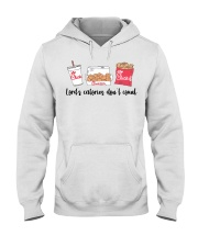 Lord's calories don't count Chick Fil A t-shirt Hooded Sweatshirt thumbnail