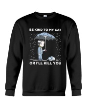 BE KIND TO MY CAT Crewneck Sweatshirt thumbnail