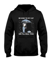 BE KIND TO MY CAT Hooded Sweatshirt thumbnail