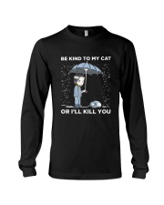 BE KIND TO MY CAT Long Sleeve Tee thumbnail