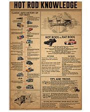 Hot Rod Knowledge  11x17 Poster front