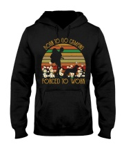 Born to go camping Hooded Sweatshirt thumbnail