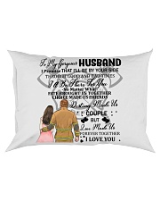 I'll Be By Your Side My Wife Firefighter Pillow Rectangular Pillowcase thumbnail