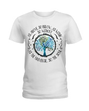 As above Ladies T-Shirt front