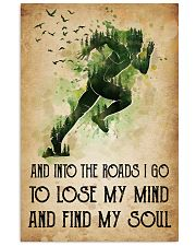 Running Lose My Mind 11x17 Poster front