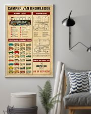 Camper Van Travel Tips Knowledge 11x17 Poster lifestyle-poster-1