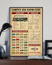 Camper Van Travel Tips Knowledge 11x17 Poster lifestyle-poster-2