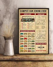 Camper Van Travel Tips Knowledge 11x17 Poster lifestyle-poster-3