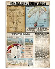Paragliding Knowledge 11x17 Poster front