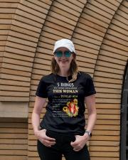 5 things Ladies T-Shirt lifestyle-women-crewneck-front-4