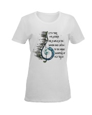 Woods Ladies T-Shirt women-premium-crewneck-shirt-front