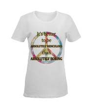 Boring Ladies T-Shirt women-premium-crewneck-shirt-front