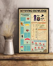 Skydiving Knowledge  11x17 Poster lifestyle-poster-3