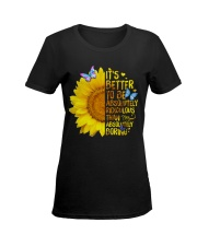 It's better Ladies T-Shirt women-premium-crewneck-shirt-front
