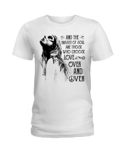 The bravest Ladies T-Shirt front