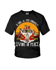 Living in peace Youth T-Shirt thumbnail