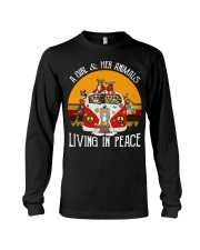 Living in peace Long Sleeve Tee thumbnail