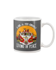 Living in peace Mug thumbnail