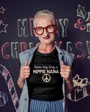 Busy nana Ladies T-Shirt lifestyle-holiday-crewneck-front-3