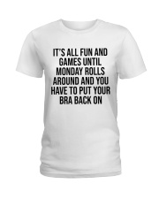 All fun Ladies T-Shirt front