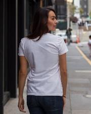 God knew Ladies T-Shirt lifestyle-women-crewneck-back-1