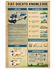 Fiat Ducato Camper Knowledge  11x17 Poster front