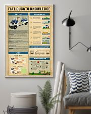 Fiat Ducato Camper Knowledge  11x17 Poster lifestyle-poster-1
