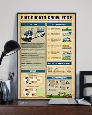 Fiat Ducato Camper Knowledge  11x17 Poster lifestyle-poster-2