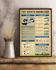 Fiat Ducato Camper Knowledge  11x17 Poster lifestyle-poster-3