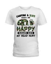 Make beer Ladies T-Shirt front